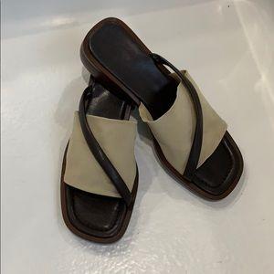 """Massimo"" Leather Sandals"